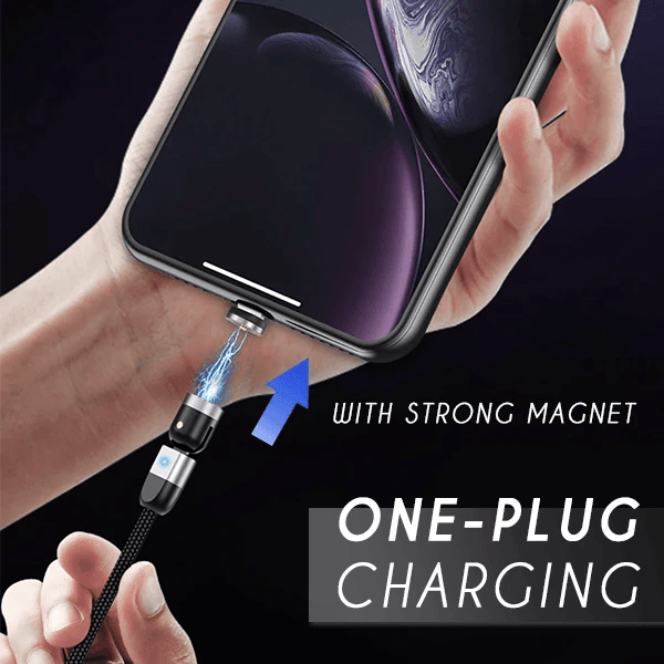 Innovative Double 360° Magnetic Cable