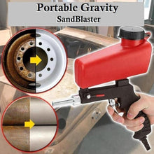 Load image into Gallery viewer, Portable Gravity Sandblaster