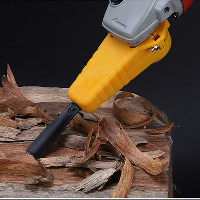 Woodworking Power Chisel For Angle Grinder