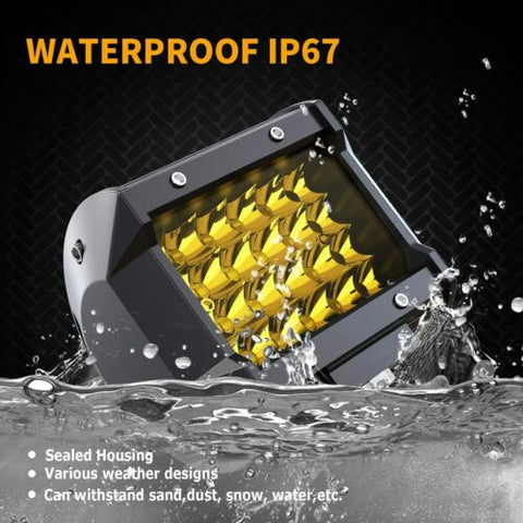 4 inch LED yellow fog driving light