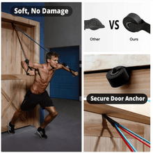 Load image into Gallery viewer, 11pc Resistance Band Set
