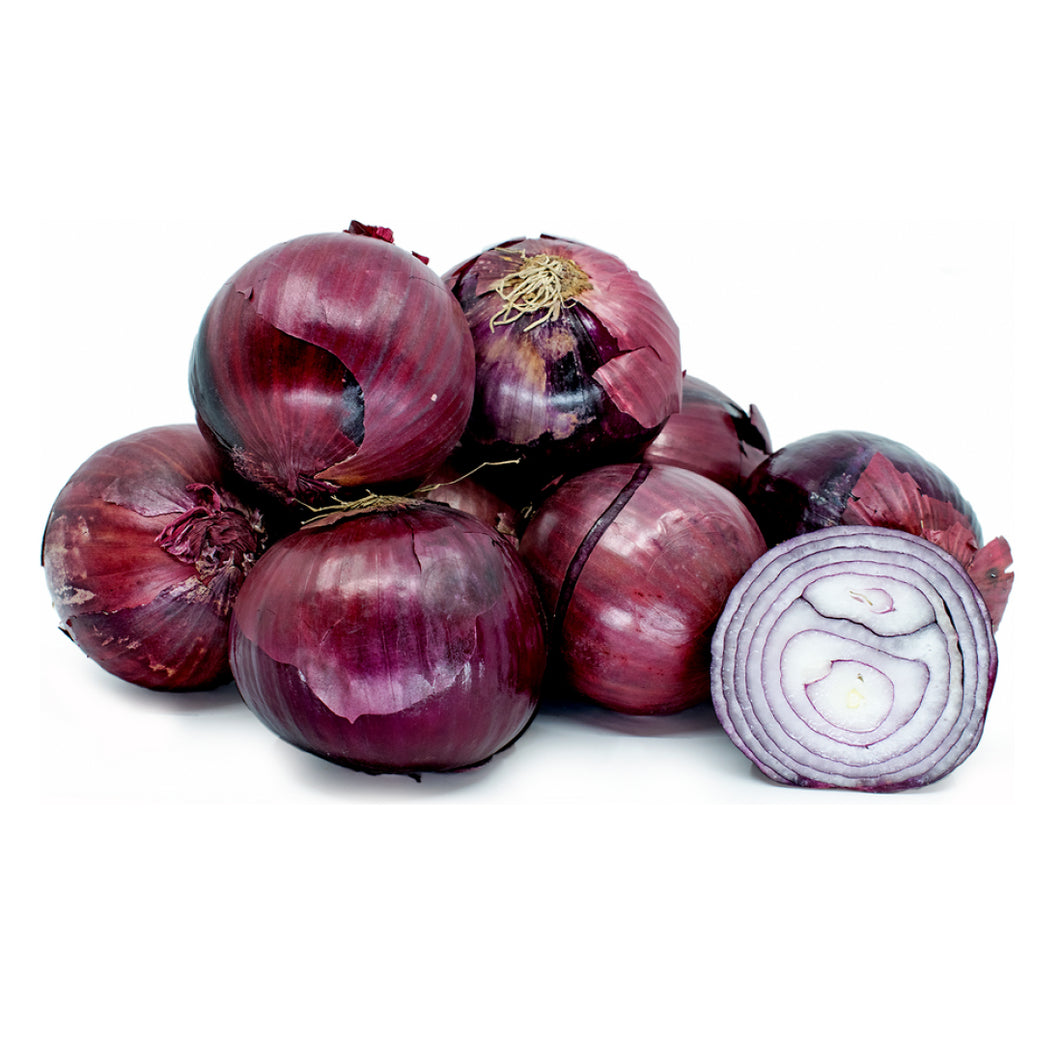 Onions Red (1 kg bag)