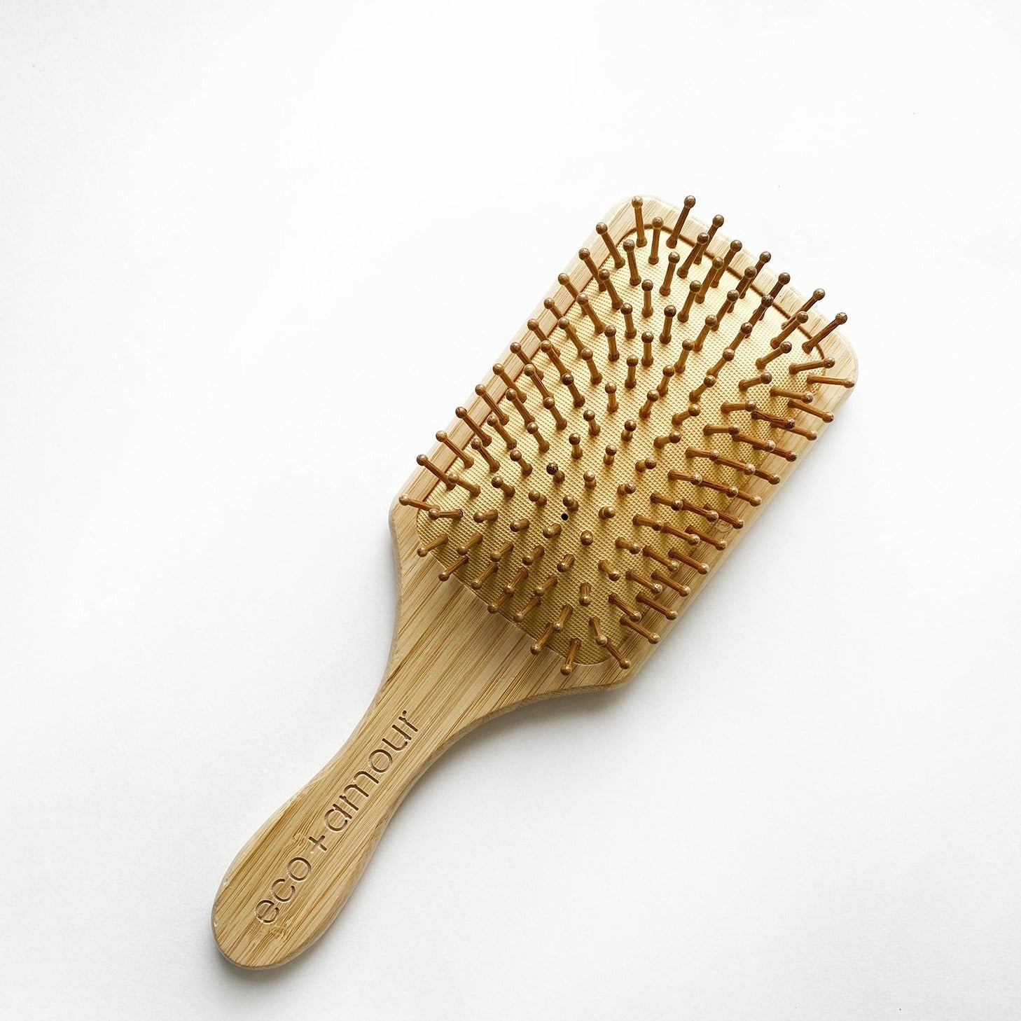Bamboo Hair Brush | eco+amour