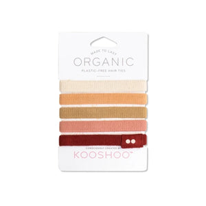 Plastic Free Hair Ties by KOOSHOO