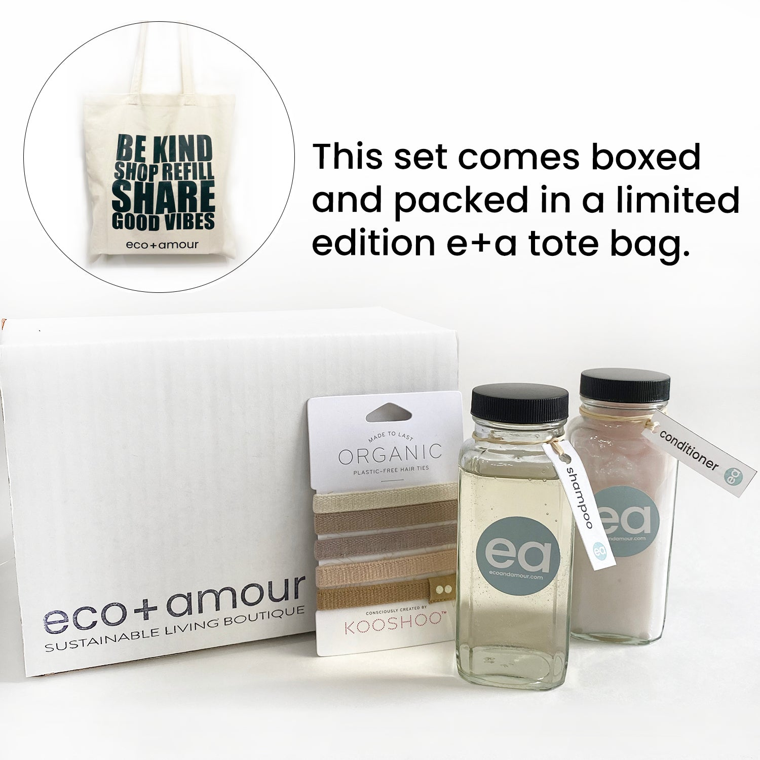 HOLIDAY HAIR CARE SET | eco+amour