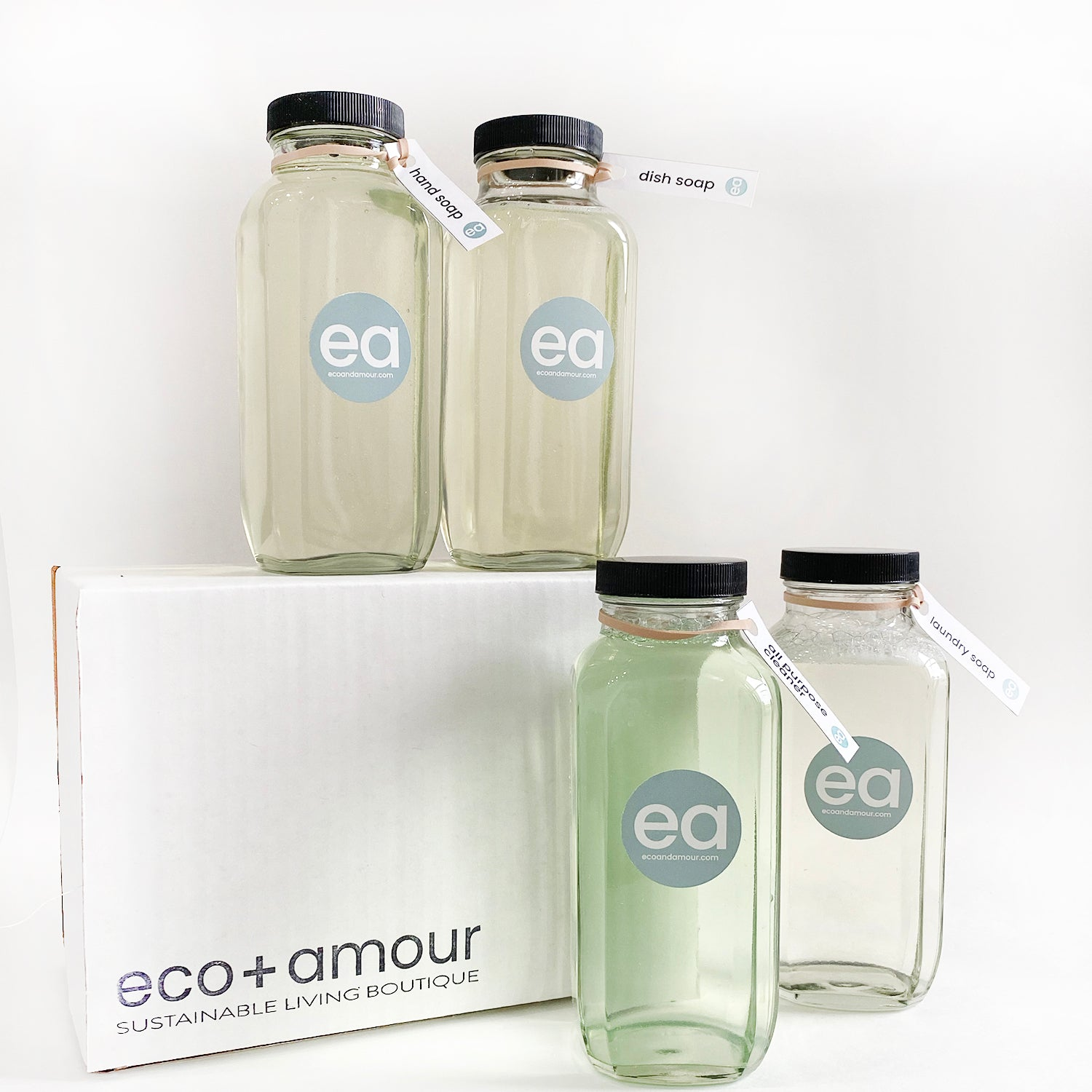 HOLIDAY HOME SOAPS SET | eco+amour