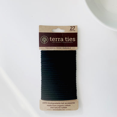 Hair Ties, Plastic Free by Terra Ties