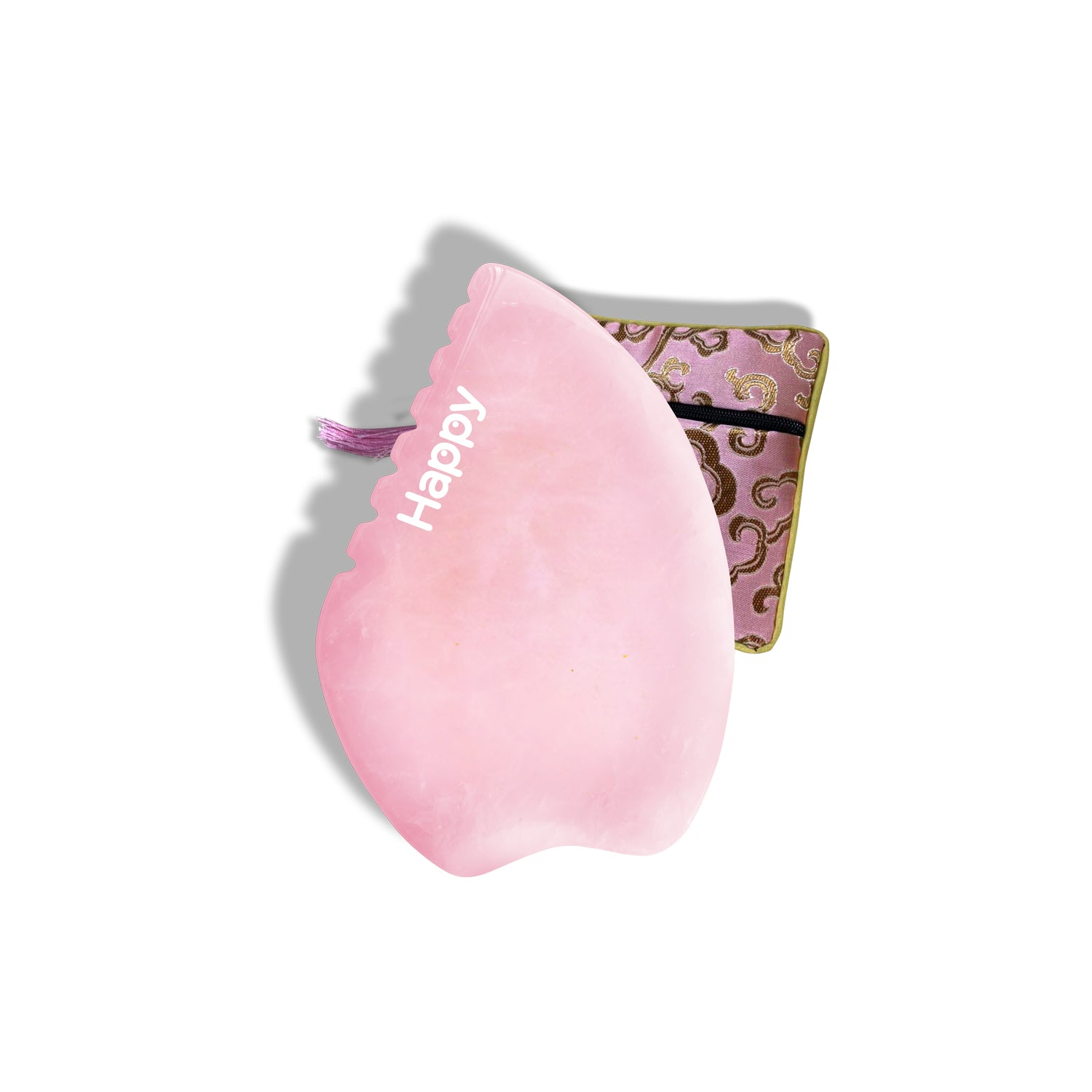 Dragon Edition Rose Quartz Gua Sha | Happy Natural Products