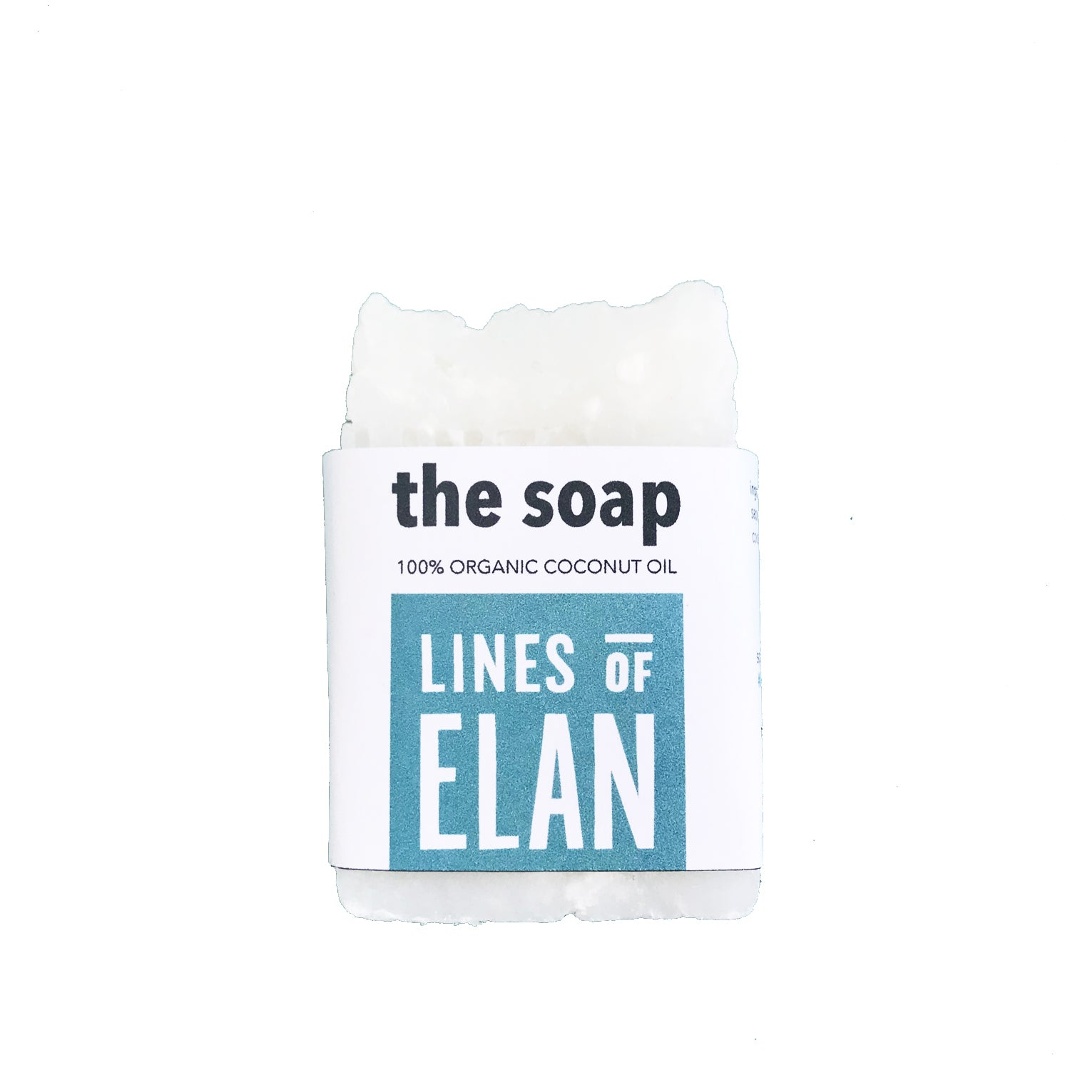 The Soap, Organic Coconut | Lines of Elan