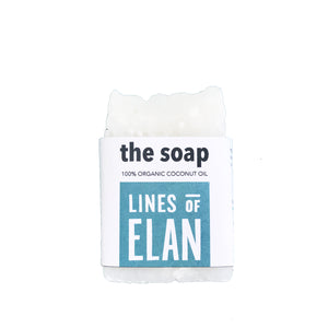 The Soap, Coconut Oil Soap Bars by Lines of Elan