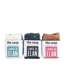 Load image into Gallery viewer, The Soap, Coconut Oil Soap Bars by Lines of Elan