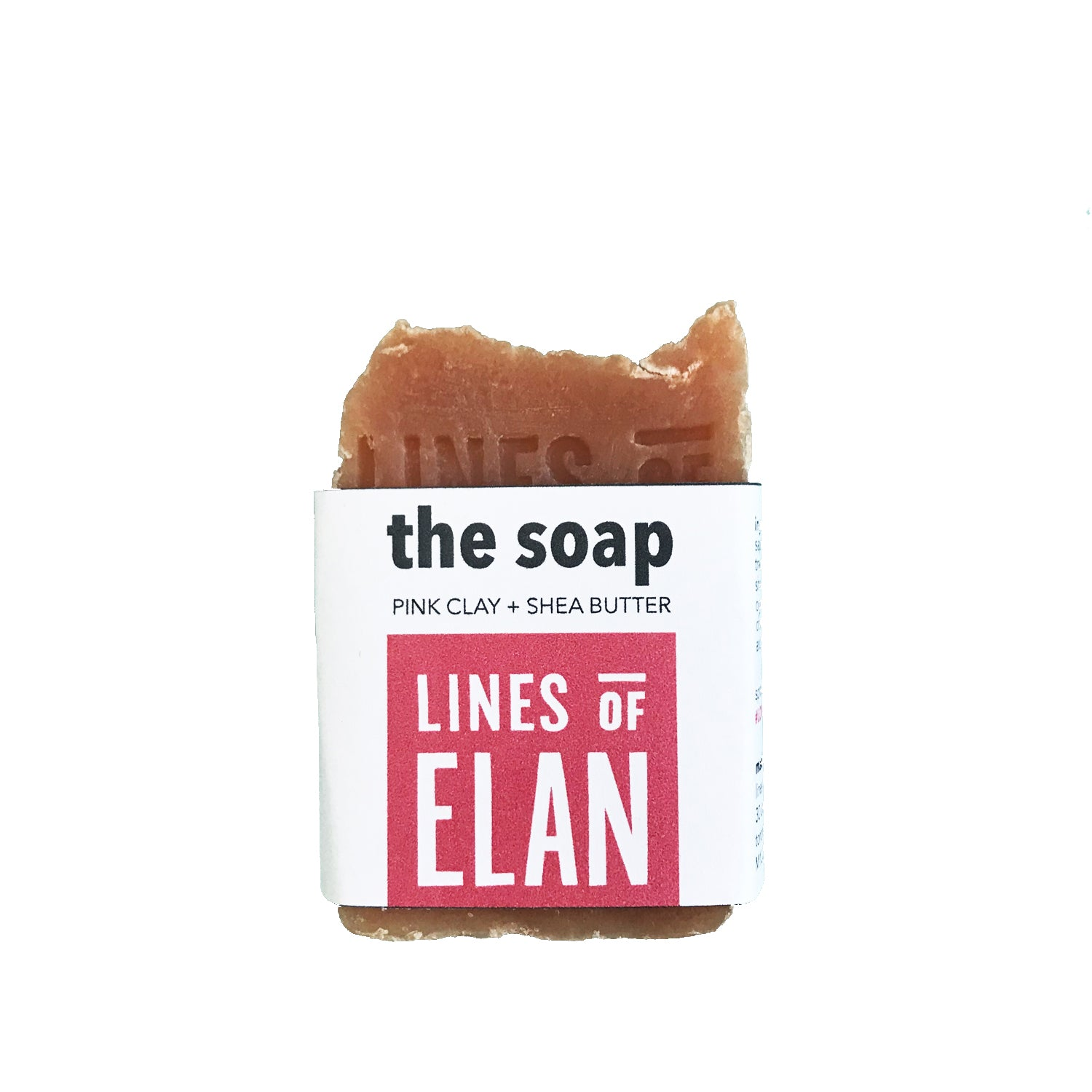 The Soap, Pink Clay + Coconut | Lines of Elan