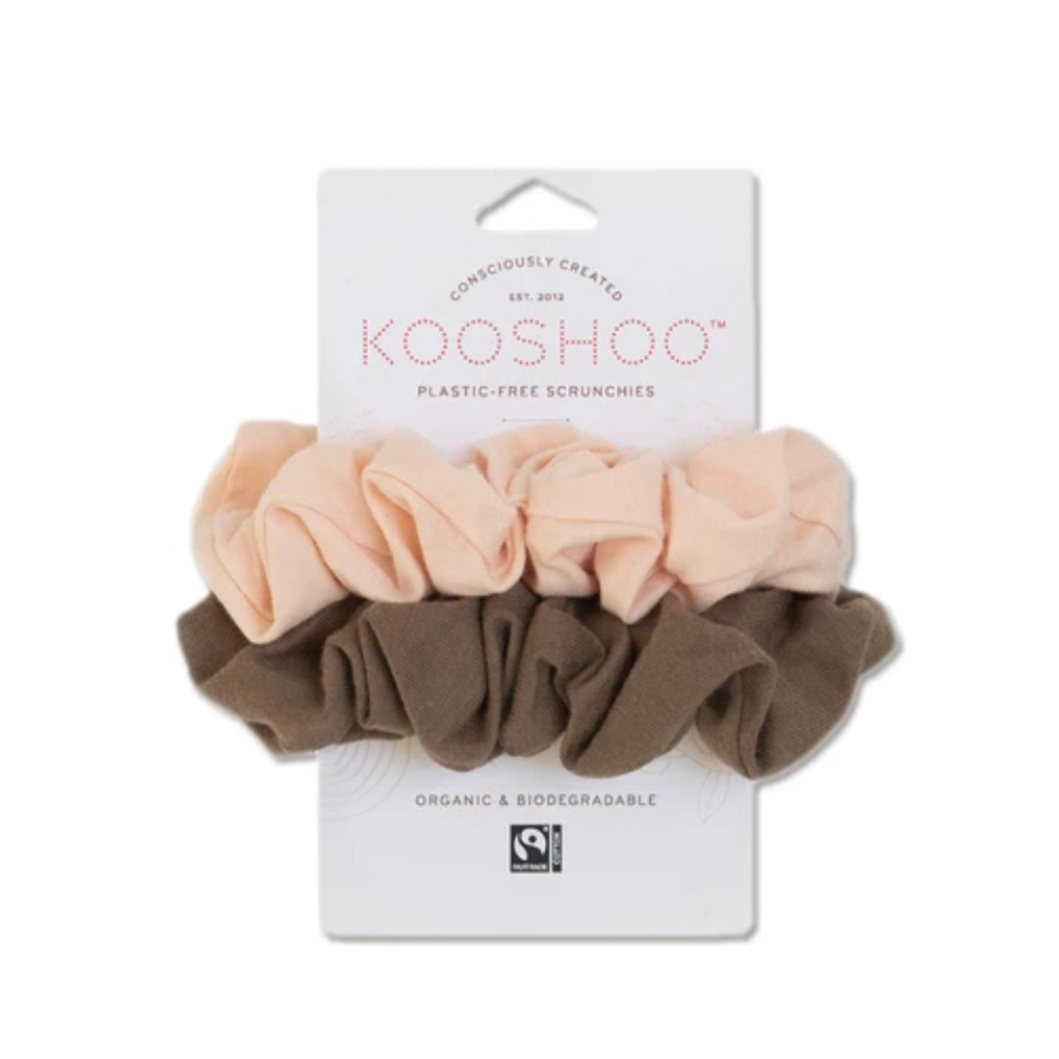 Plastic Free Hair Scrunchies by KOOSHOO