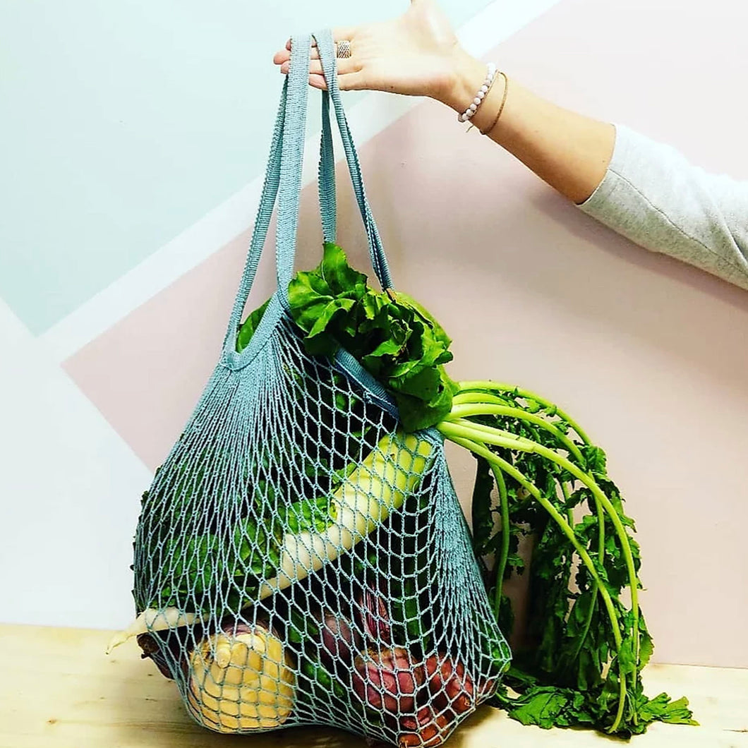 Cotton Mesh Shopper Bag by eco+amour