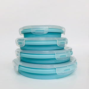 Silicone Collapsible Bowl Set