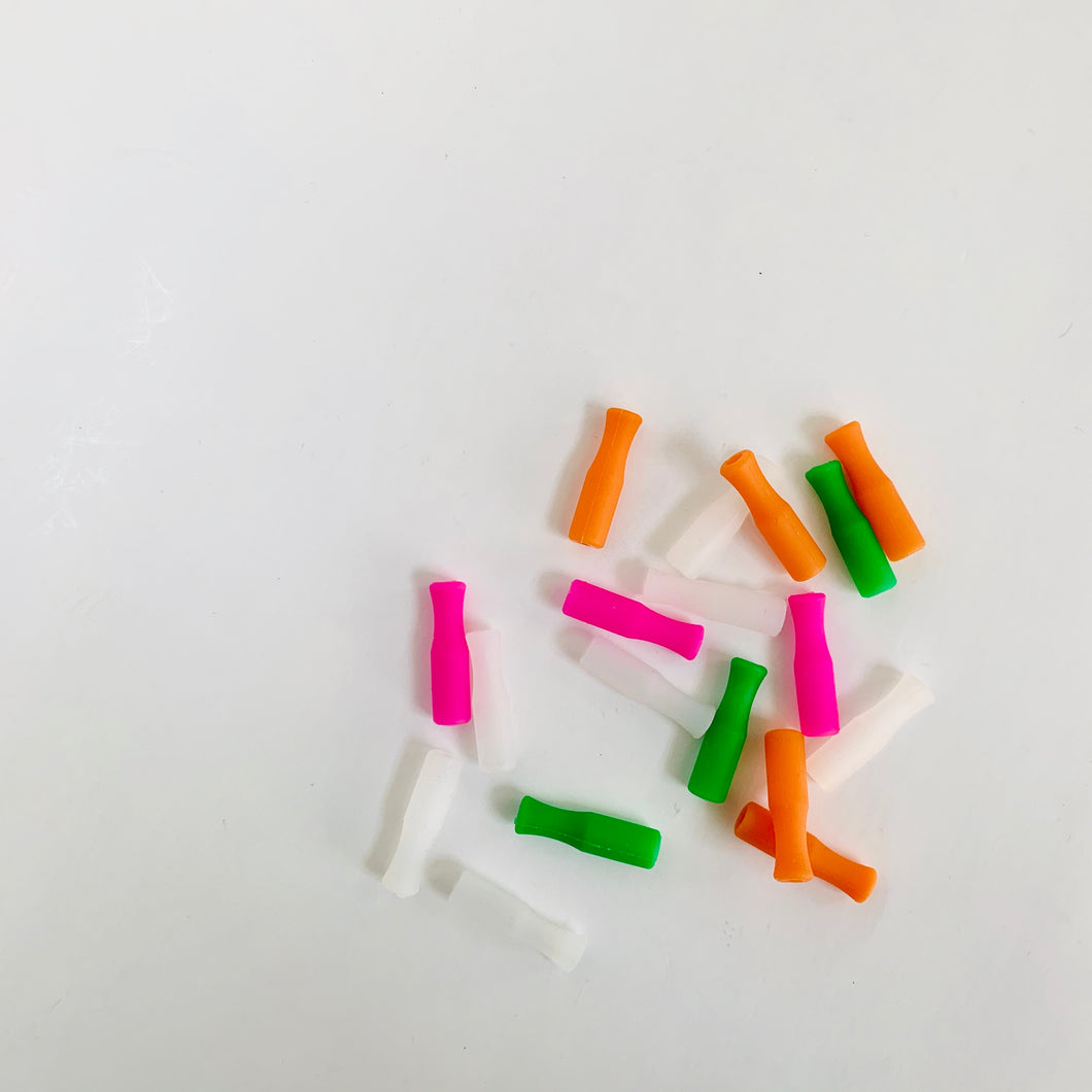 Silicone Straw Tips (4 pack)