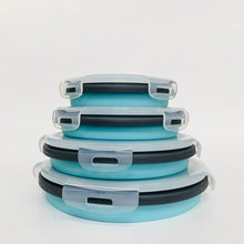Load image into Gallery viewer, Silicone Collapsible Bowl Set