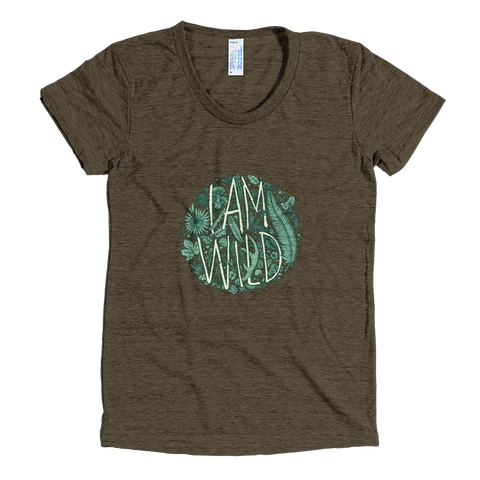 Women's 'I Am Wild' T-Shirt