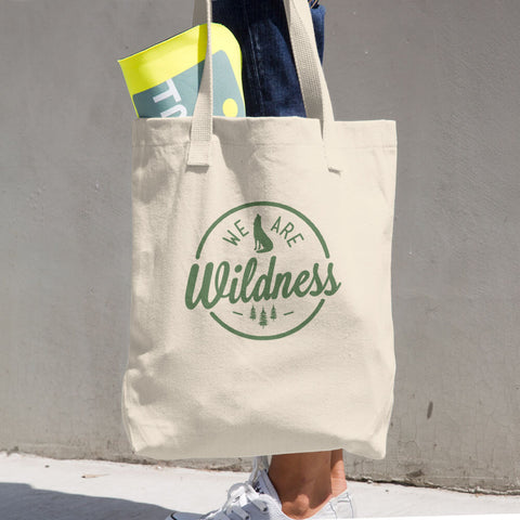 We Are Wildness Cotton Tote Bag