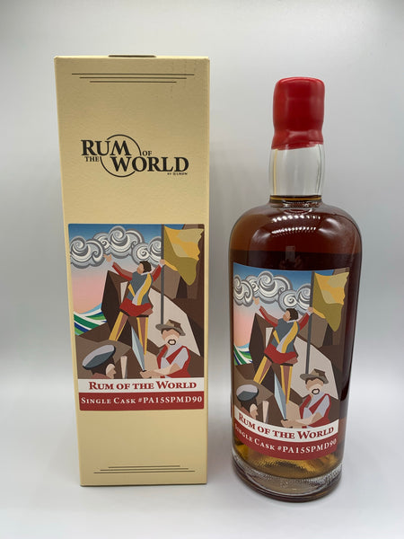 Panama Rum 2003 Rum Of The World #PA15SPMD90 bottled for The Swan Song & LMDW, 59.4%