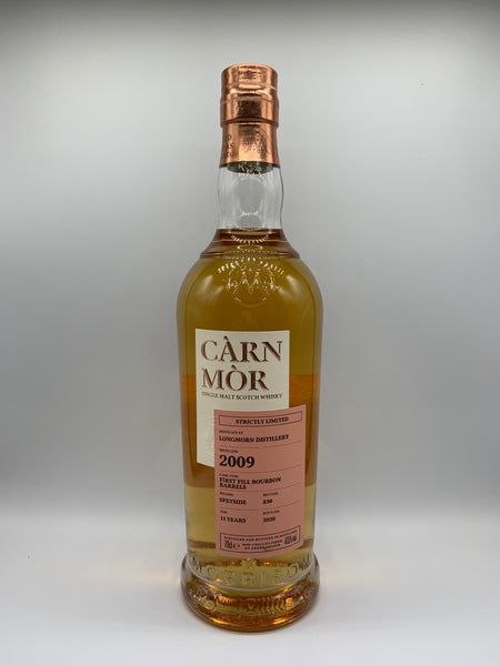 Longmorn 2009 Carn Mor Strictly Limited 11 Years Old, 47.5%