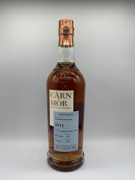 Ardmore 2011 Carn Mor Strictly Limited 9 Years Old, 47.5%