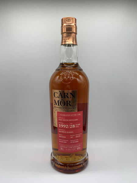 Glen Keith 1992 Carn Mor Celebration Of The Cask 28 Years Old #102370, 55.6%