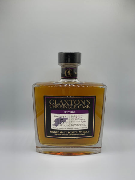 Tomintoul 2005 Claxton's The Single Cask 15 Years Old #2091-21, 56.6%