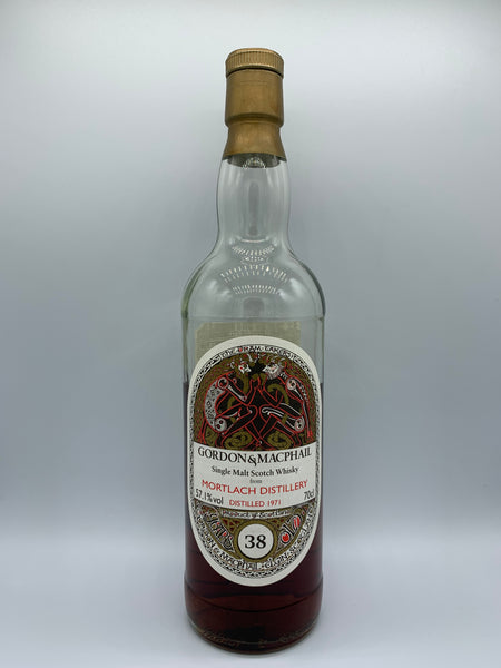 1 x 20ml sample of Mortlach 1971 Gordon and Macphail Book of Kells 38 Years Old for Japan Import System, #6318, 57.1%