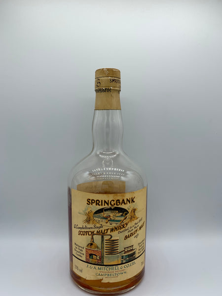1 x 20ml sample of Springbank 1966 OB Local Barley, #511, 55%