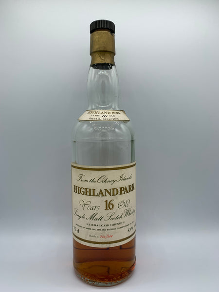 1 x 20ml sample of Highland Park 1970 Intertrade 16 Years Old, 53%