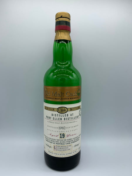 1 x 20ml sample of Port Ellen 1982 Douglas Laing Old Malt Cask 19 Years Old for Alambic Classique, 56%