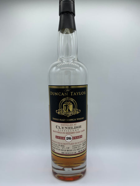 1 x 20ml sample of Clynelish 1988 Duncan Taylor 26 Years Old #908515, 49.4%