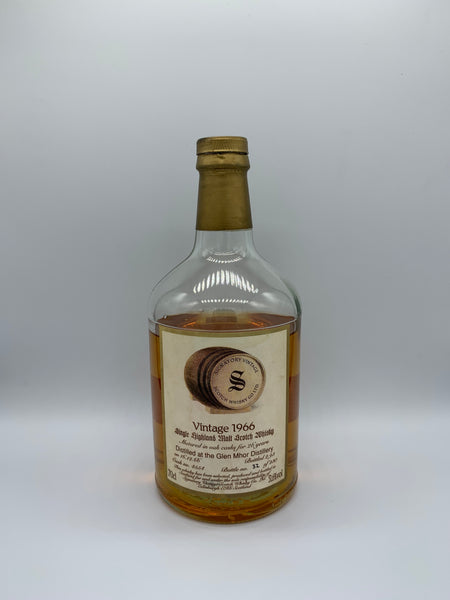 1 x 20ml sample of Glen Mhor 1966 Signatory Vintage 26 Years Old #4554, 51.6%