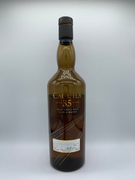1 x 20ml sample of Caol Ila 1982 OB 35 Years Old Diageo Special Release 2018, 58.1%