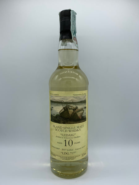 Ledaig 2007 Hidden Spirits 10 Years Old, #LG717, 52.5%