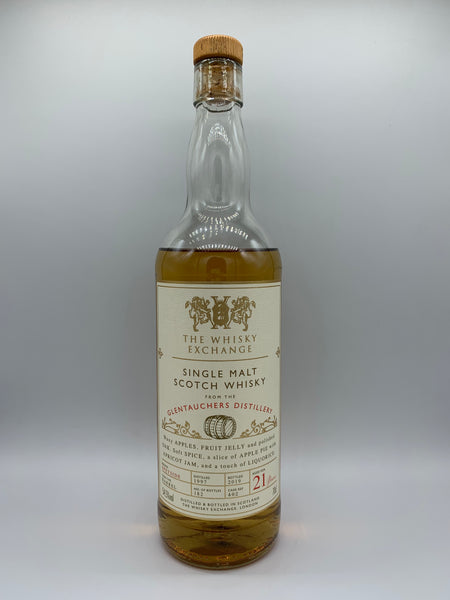 1 x 20ml sample of Glentauchers 1997 The Whisky Exchange 21 Years Old #402, 54.5%