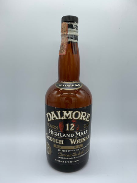 1 x 20ml sample of Dalmore 12 Years Old OB Duncan Macbeth bottled circa 80s, 43%