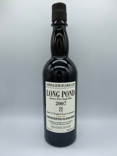 1 x 20ml sample of Long Pond 2007 Velier TECC 11 Years Old, 62.5%