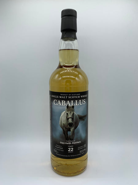 1 x Glen Keith 1995 Caballus 22 Years Old #171252 bottled exclusively for Whisk-e Limited Japan, 50.9%