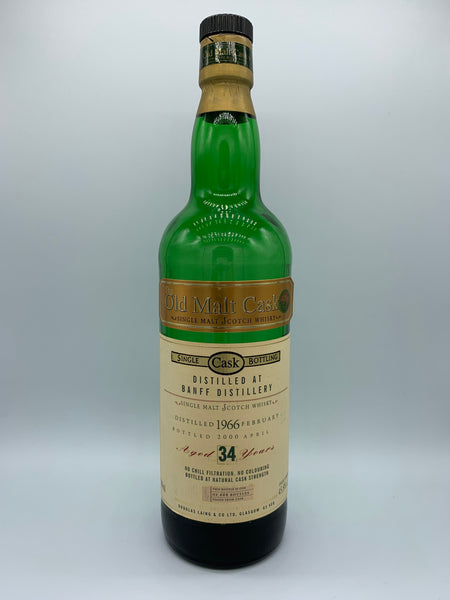 1 x 20ml sample of Banff 1966 Douglas Laing Old Malt Cask 34 Years Old, 45.8%