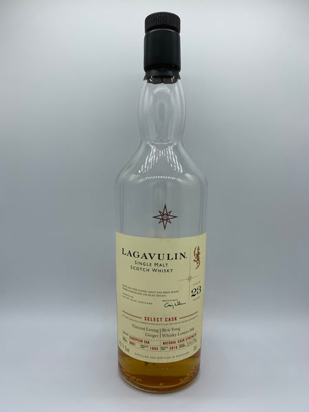 1 x 20ml sample of Lagavulin 1995 23 Years Old #9001 OB bottled for Ginger and Whisky Lover HK, 48.7%