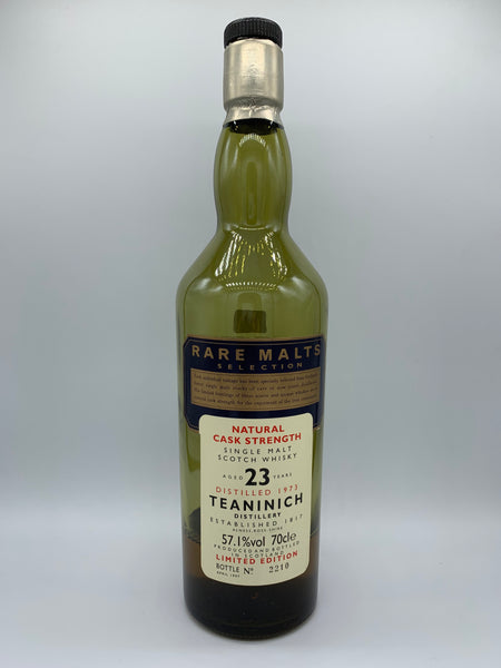 1 x 20ml sample of Teaninach 1973 OB Rare Malts 23 Years Old, 57.1%