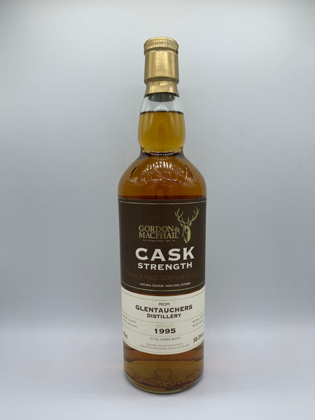 Glentauchers 1995 Gordon Macphail Cask Strength #5072-5073, 58.3%