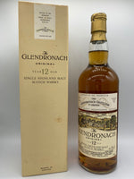 Glendronach 12 Years Old OB Previ Import bottled circa 80s, 43%