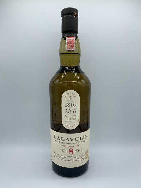 Lagavulin 8 Years Old 200th anniversary, 48%