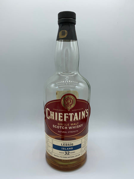1 x 20ml sample of Ledaig 1973 Chieftain's 32 Years Old #2800, 45%
