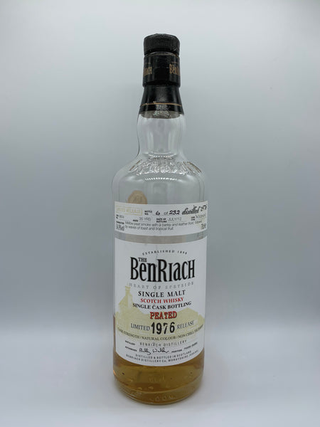 1 x 20ml sample of Benriach 1976 OB Peated #8804, 54.9%