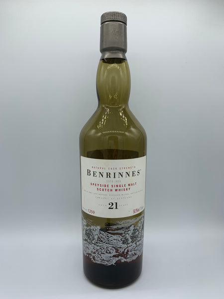 1 x 20ml sample of Benrinnes 1992 21 Years Old Diageo Special Release 2014, 56.9%