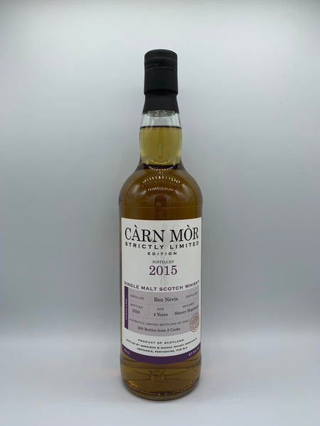 Ben Nevis 2015 4 Years Old Carn Mor Strictly Limited, 47.5%